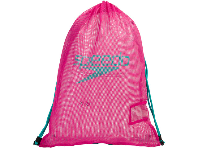speedo Equipment Bolsa de red L, electric pink/green glow